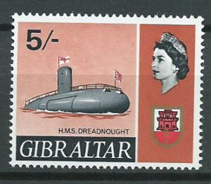 Gibraltar  SG 211   MUH