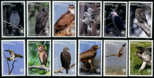 HERRICKSTAMP NEW ISSUES NIUAFO'OU Birds of Prey 2018 w/ White Borders