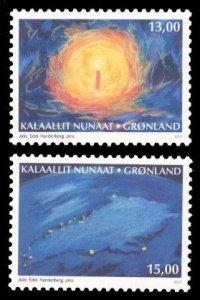 Greenland 2017 Scott #768-769 Mint Never Hinged