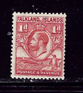 Falkland Is 55 MH 1929 issue