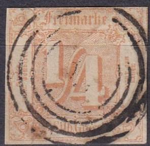 Thurn & Taxis #8 F-VF Used  CV $67.50  Z300