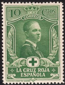 Spain 1926 10c Red Cross MH