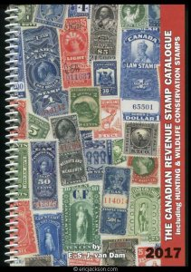 The Canadian Revenue Stamp Catalogue, 2017 edition