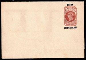 British Bechuanaland 1/2d Overprint Wrapper unused H&G3 WS18940