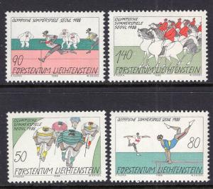 Liechtenstein 888-891 MNH VF