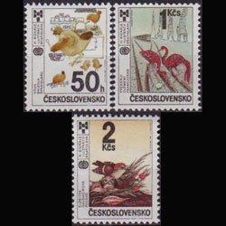 CZECH. 1987 - Scott# 2666-8 Children Books 50h-2k NH