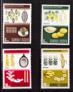 Samoa Scott 283-286 MH* set