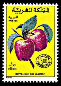 Morocco J16, MNH, Apples Postage Due additional value