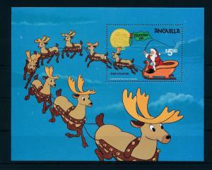 [22101] Anguilla 1981 Disney Night before Christmas Reindeers MNH