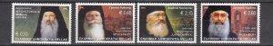 J26324  jlstamps 2002 greece set mnh #2045-8 archbishops