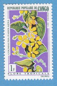 Congo People's Republic 237 MH - Tropical Flowers