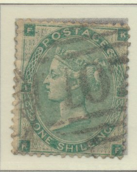 Great Britain Stamp Scott #42, Used/Canceled - Free U.S. Shipping, Free World...