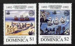 Dominica 1492-3 MNH Christopher Columbus, Ships