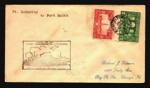 Canada 1930 FFC Ft McMurray to Ft Smith - Z17515