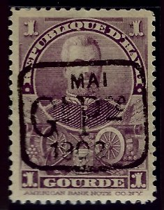 Attractive Haiti #81 Mint VF...West Indies collection!