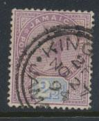Jamaica  SG 29  Used - see scan and details