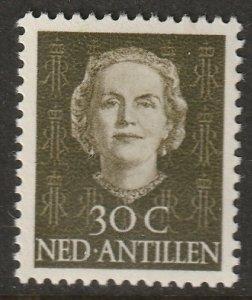 Netherlands Antilles 1950 Sc 224 MH*