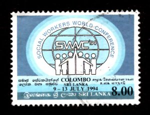 Sri Lanka 1994 World Conf. Federation of Social Workers, Colombo 8r Sc.1104 (#7)