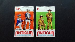Antigua 1976 The 200th Anniversary of the Independence of the United Stat Unused