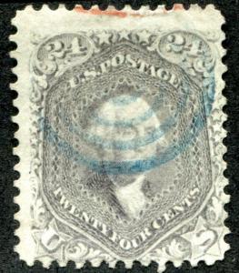 United States (US) 78 Used, Fine, light cancel