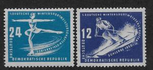 GERMANY - DDR SC# 51-2 FVF/MNH