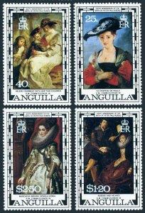 Anguilla 301-304,MNH.Michel 309-312. Peter Paul Rubens,400th birth Ann.1977.