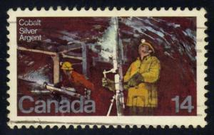 Canada #765 Silver Mine at Cobalt Lake, used (0.25)