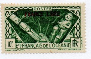 French Polynesia 133 Mint Hinged