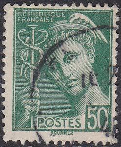 France Sc# 365 Hinged Used 1941