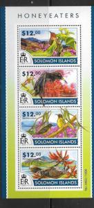SOLOMON ISLANDS 2015 HONEYEATERS  (1) MNH