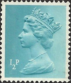 GREAT BRITAIN - MH22 - Used - SCV-0.25