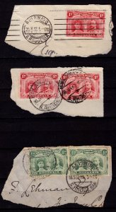 British South Africa Company stamps - #101,102 - 1910 - Double heads