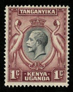 King George V, 1935, Kenya, Uganda and Tanganyika, MNH, 1 cent (T-5994)