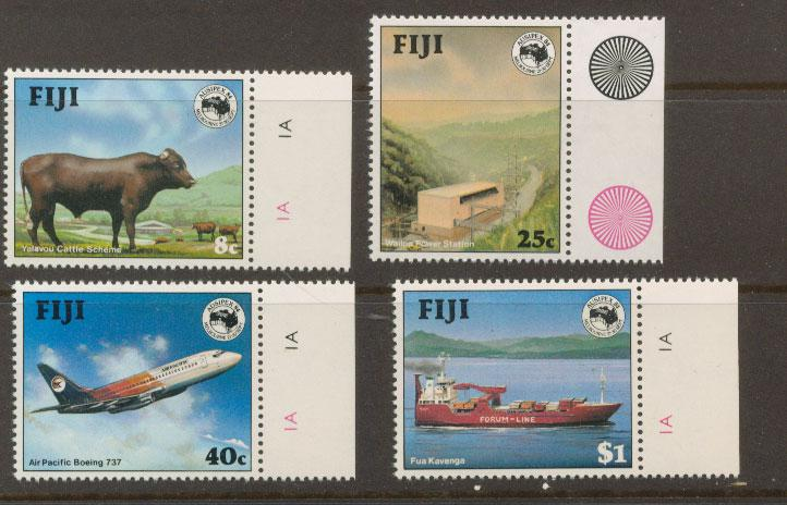 Fiji   SG 684  MUH set margin copy