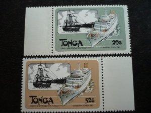 Tonga - Set - First Manned Balloon Flight