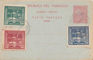 Paraguay 2.85P, 3.40P and 4.75P Declaration of Independence 1930 1811-Via Aer...