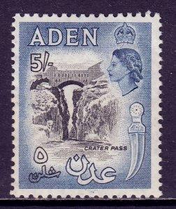 Aden - Scott #58A - MH - Gum bump - SCV $9.50