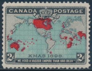 CANADA #86 XF+ OG LH BU2083