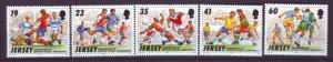 J14143 JLstamps 1996 great britain jersey set mnh #750-4 sports