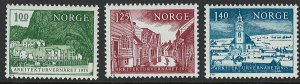Norway Scott 651-653 MNH!