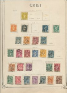 Ecuador Costa Rica Bolivia 1860s/1907 M&U On Old Pages (Apx 160+Items)W866