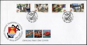 Kiribati. 2017. National Marine Training Center - 2 (Mint) First Day Cover