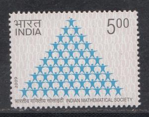 India 2009  # 2391   Indian Mathematical Society   MNH   01995