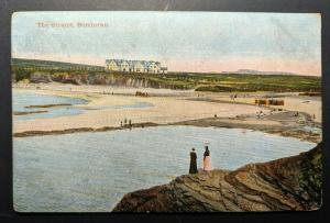 1903 The Strand Bundoran Co Donegal Ireland Real Picture Postcard Cover