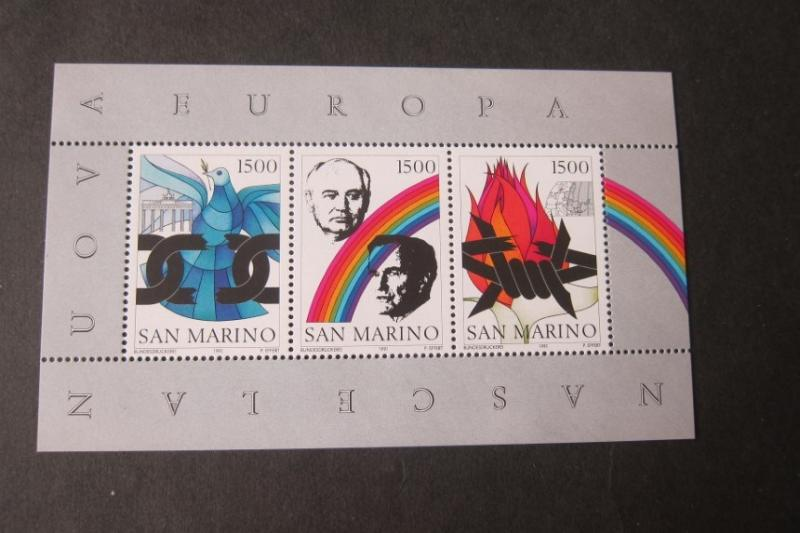 San Marino Sc 1243 people MNH