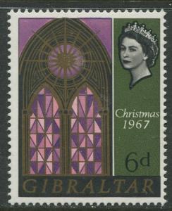 Gibraltar #204 MNH  Scott CV. $0.25.