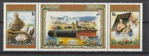 Lesotho MNH 376-8 Centenary Of The Sesotho Bible