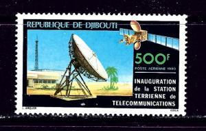 Djibouti C137 MNH 1980 Satellite Earth Station