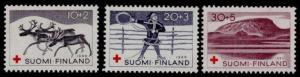 Finland B157-9 MNH Reindeer, Mountains