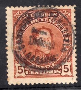 Venezuela Lindbergh cancel 30 January 1928 Scarce Air mail postal history stamp